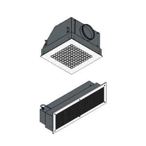 elementi za čiste prostore HEPA